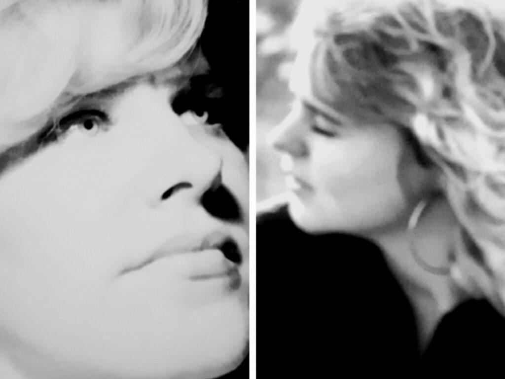 Marianne de moeder van Sharon